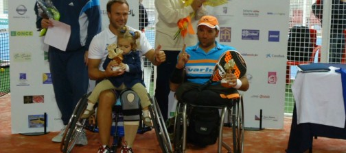 Oscar Agea y Rubén Castilla numéro 1 de padel handisport